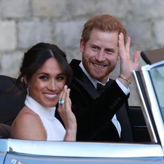 Es war die Hochzeit des Jahres 2018. Prinz Harry gab seiner Meghan das Ja-Wort. Kurz nach der Trauung wechselte das royale Paar Kleidung und Wagen, um zur Hochzeitsparty ins Frogmore House zu gelangen. Mit einem ganz besonderes Vehikel …