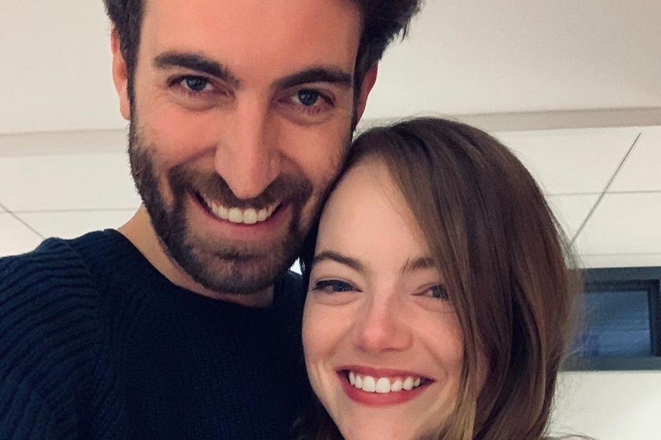 Dave McCary und Emma Stone
