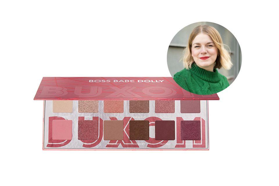 Volontärin Julia experimentiert gerne mit Make-up. Bei den zwölf Tönen der Lidschattenpalette kann sie sich so richtig austoben.