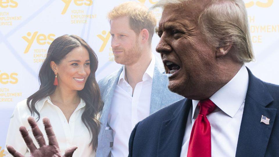 Donald Trump wettert gegen Meghan und Harry