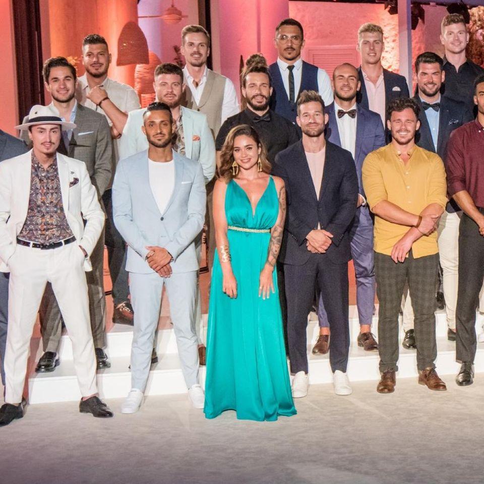 """Ab dem 14. Oktober, 20.15 Uhr, bei RTL kämpfen diese 20 Männer in der siebten Staffel von """"Die Bachelorette"""" um das Herz von Melissa."""