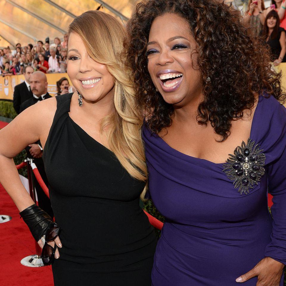 Mariah Carey + Oprah Winfrey