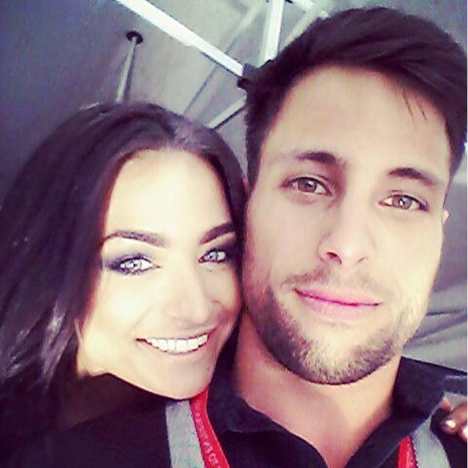Amira Pocher und ihr Bruder