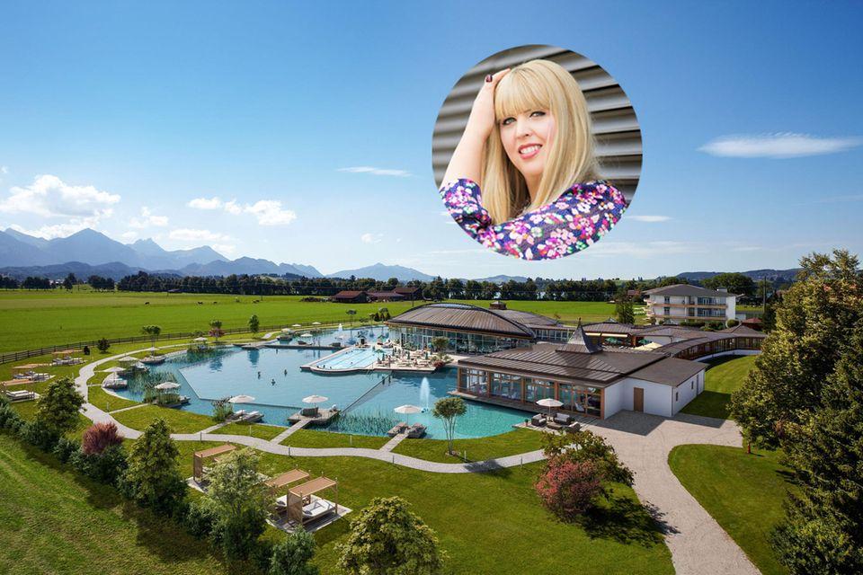 Perfekt zum Abschalten: Ressortleitung Nane stellt dasKönig Ludwig Wellness & Spa Resort im Allgäu vor.
