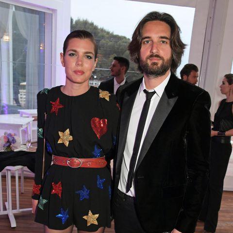 Charlotte Casiraghi + Dimitri Rassam