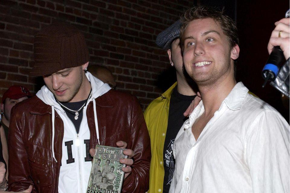 Justin Timberlake und Lance Bass waren von 1995 bis 2002 Mitglieder der Boygroup*NSYNC.