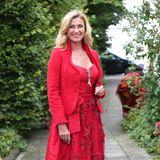 Auch Dagmar Wöhrl erscheint komplett in Rot. Wow!