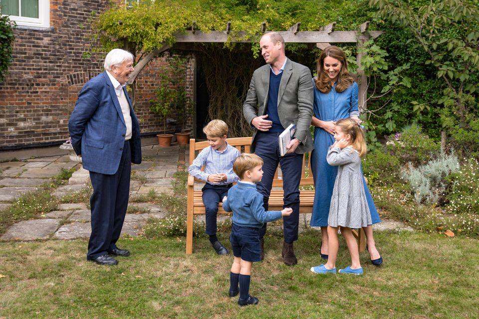 5 versteckte Details im Familienfoto der Cambridges