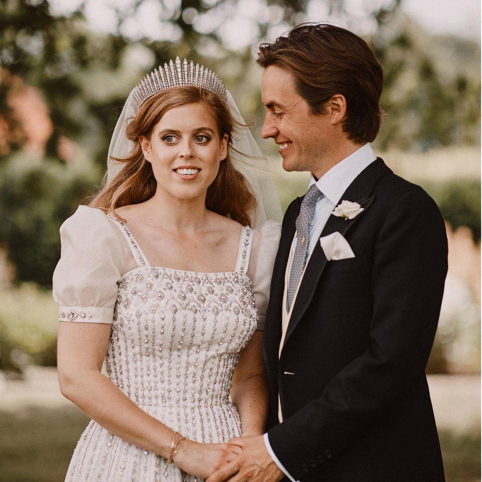 Prinzessin Beatrice +Edoardo Mapelli Mozzi
