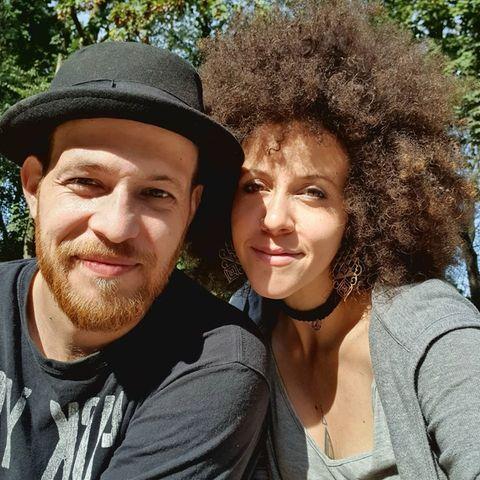Patrick Müller und Joy Abiola-Müller