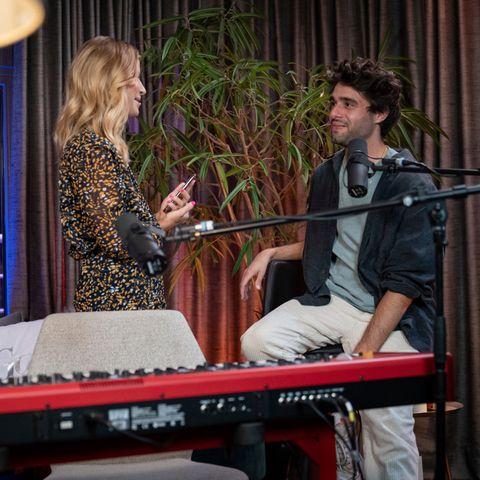 Susan Sideropoulos im Gespräch mit Nachwuchsstar Xavi