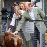 Und die Ziegen zu streicheln scheint den Wessexes auch große Freude zu bereiten. Ihr Besuch auf der Vauxhall City Farm markiert den Beginn des Black History Month, auf derStadtfarm gibt esin den nächsten Wochen viele Aktivitäten und Bildungsangebote zu diesem Thema.