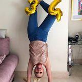 """Zum34. Geburtstag wagt Daniela Katzenbergermal einen Perspektivwechsel, aber ihr Humor ist und bleibt derselbe. Auf Instagram kommentiert sie ihr Foto gewohnt selbstironisch: """"Verdammt, hätte ich vor 12 Jahren gewusst, dass ich so lange in der Öffentlichkeit stehe, hätte ich mich damals jünger gemacht."""""""