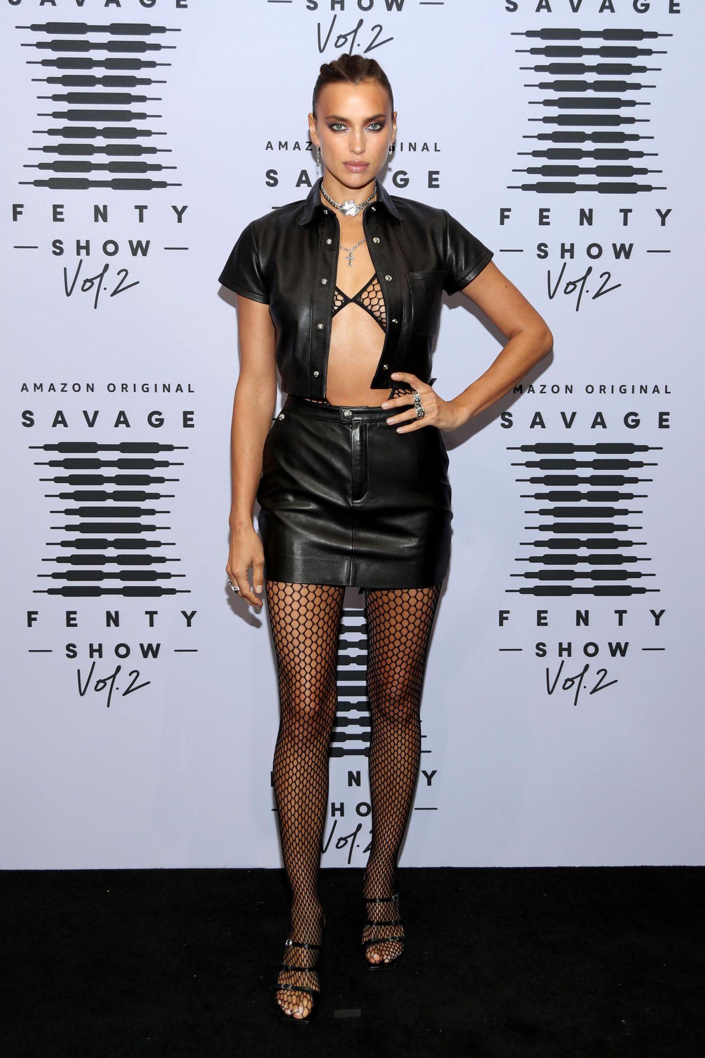 Wow, wow, wow! Topmodel Irina Shayk legt auch abseits des Catwalks einen atemberaubenden Auftritt hin.