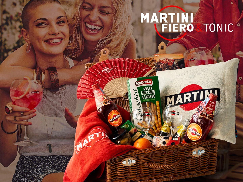 Gewinnspiel: GEWINNE: 3x 1 MARTINI Fiero & Tonic Paket im Wert von je 200€!