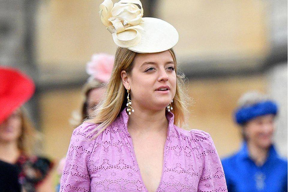 Flora Ogilvy bei der Hochzeit von Lady Gabriella Windsor und Thomas Kingston im Mai 2018
