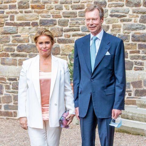 Großherzogin Maria Teresa und Großherzog Henri von Luxemburg