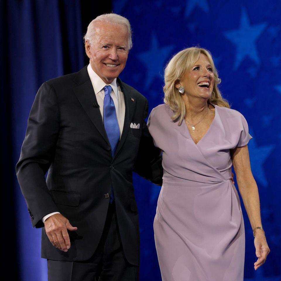 Joe Biden und Ehefrau Dr. Jill Biden
