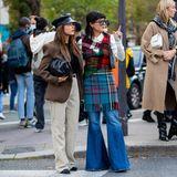 Sophia Rae und Maria Bernard bei der Hermès-Show