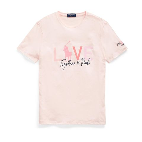 """Live Love""-Shirt von Ralph Lauren"