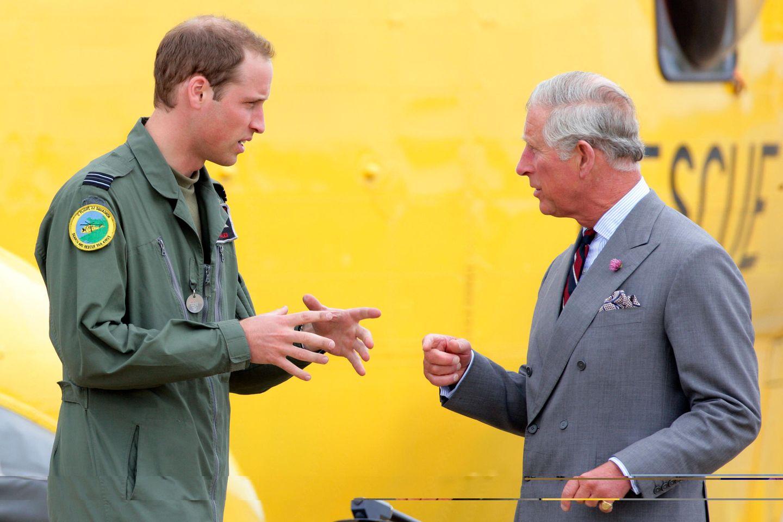 Prinz William, Prinz Charles