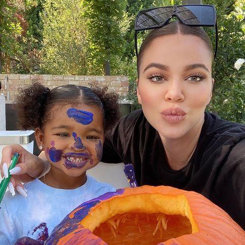Khloe Kardashian und Tochter True