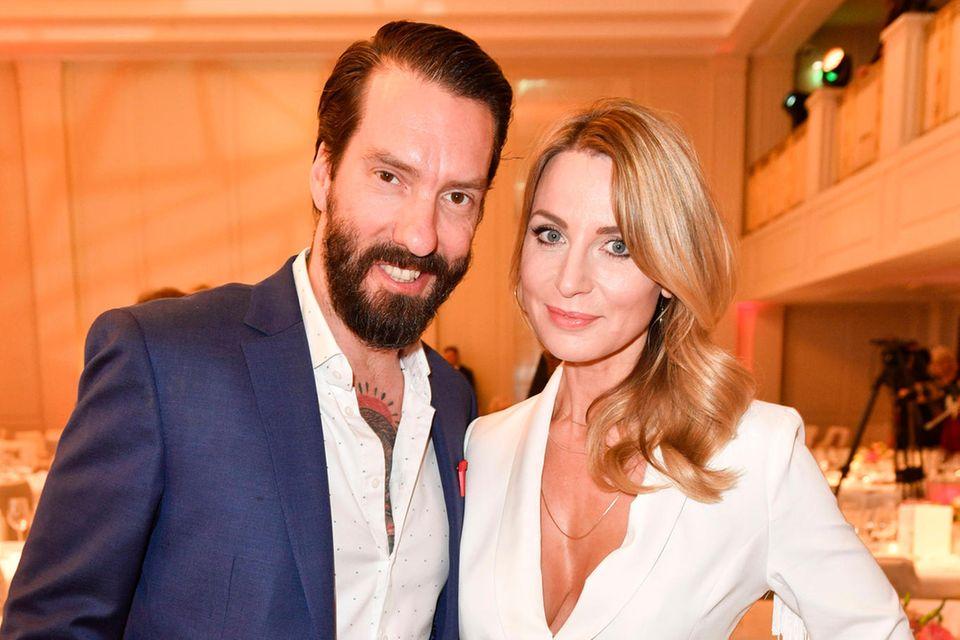 Alec Voelkel und Ehefrau Johanna