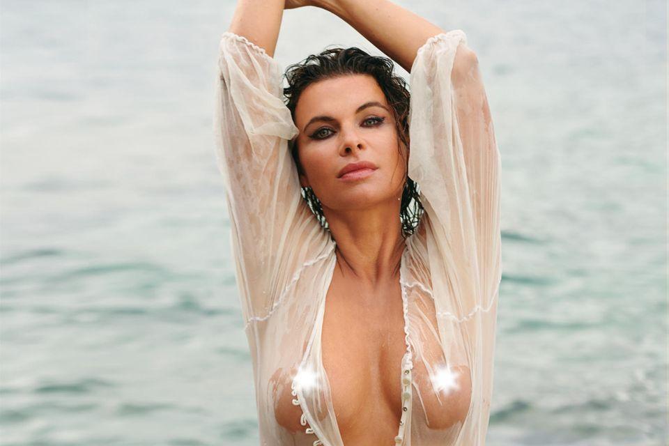 """Anne Brendler in der """"Playboy""""-November-Ausgabe - ab dem 8. Oktober im Handel verfügbar."""