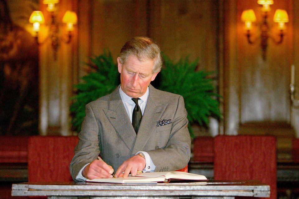 Prinz Charles pflegte über Jahre eine besonders innige Brieffreundschaft mit dem Hausmädchen Marjorie Dawson.