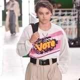 Starke Statements waren auf dem Laufsteg von Louis Vuitton in Paris zu sehen.