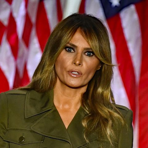 Die First Lady der USA, Melania Trump.