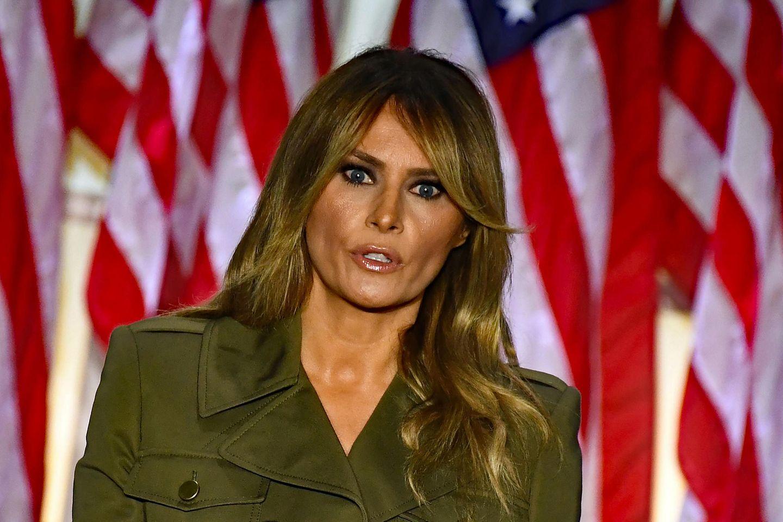 Die First Lady der USA, Melania Trump.