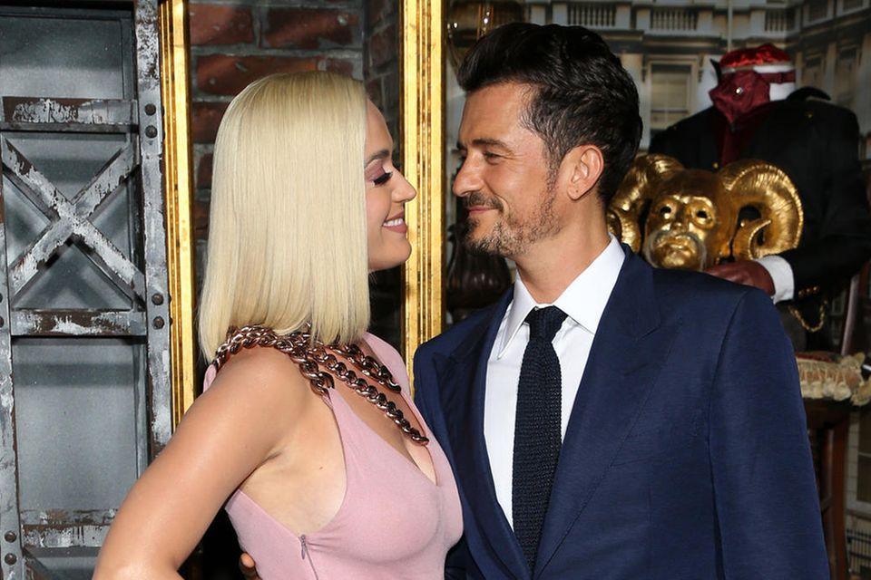 Katy Perry und Orlando Bloom