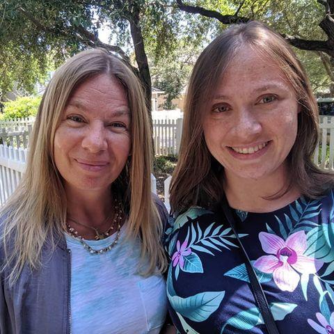 Manuela Reimann und Tochter Janina