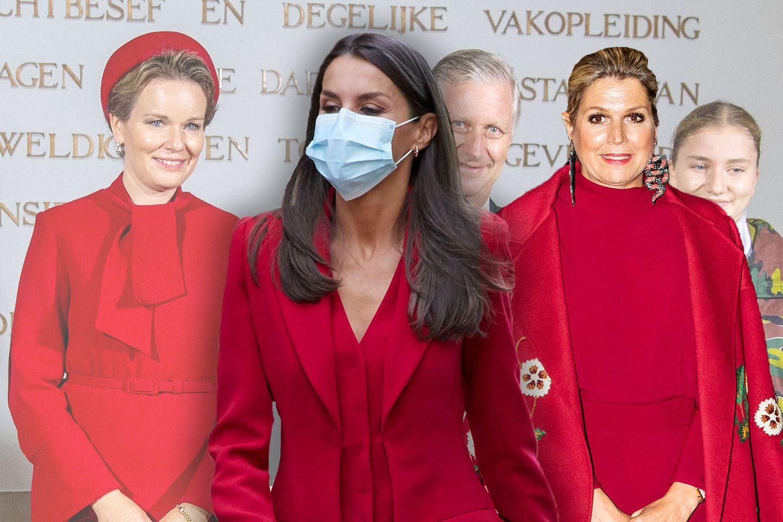 Königin Mathilde, Königin Letizia und Königin Máxima