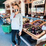 Alessandra Meyer-Wölden achtet schon lange auf eine gesunde, nachhaltige Ernährung. So ist es für sie selbstverständlich, nur frische und regionale Bio-Lebensmittel zu kaufen.