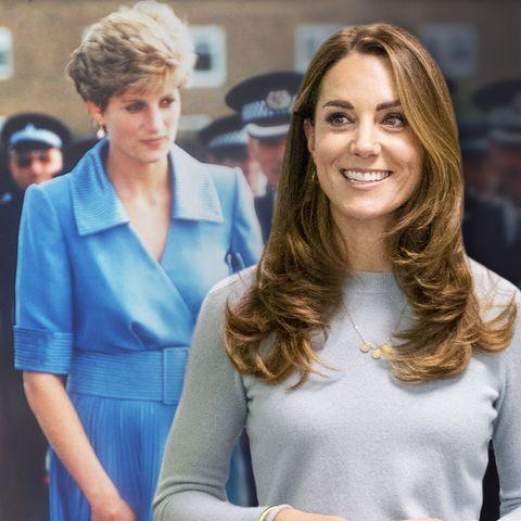 Prinzessin Diana und Herzogin Catherine
