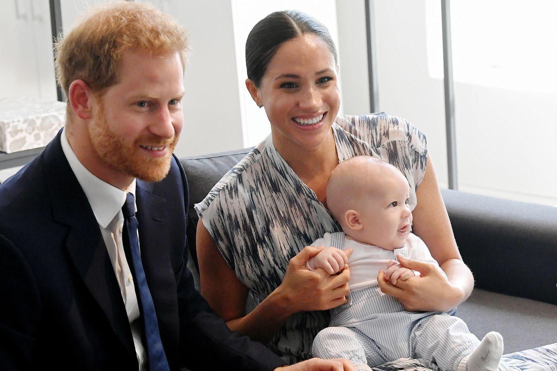 Prinz Harry + Meghan + Archie