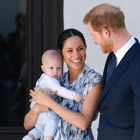 Meghan + Harry + Archie