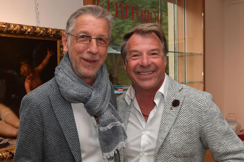 Peter Schäfer und Patrick Lindner