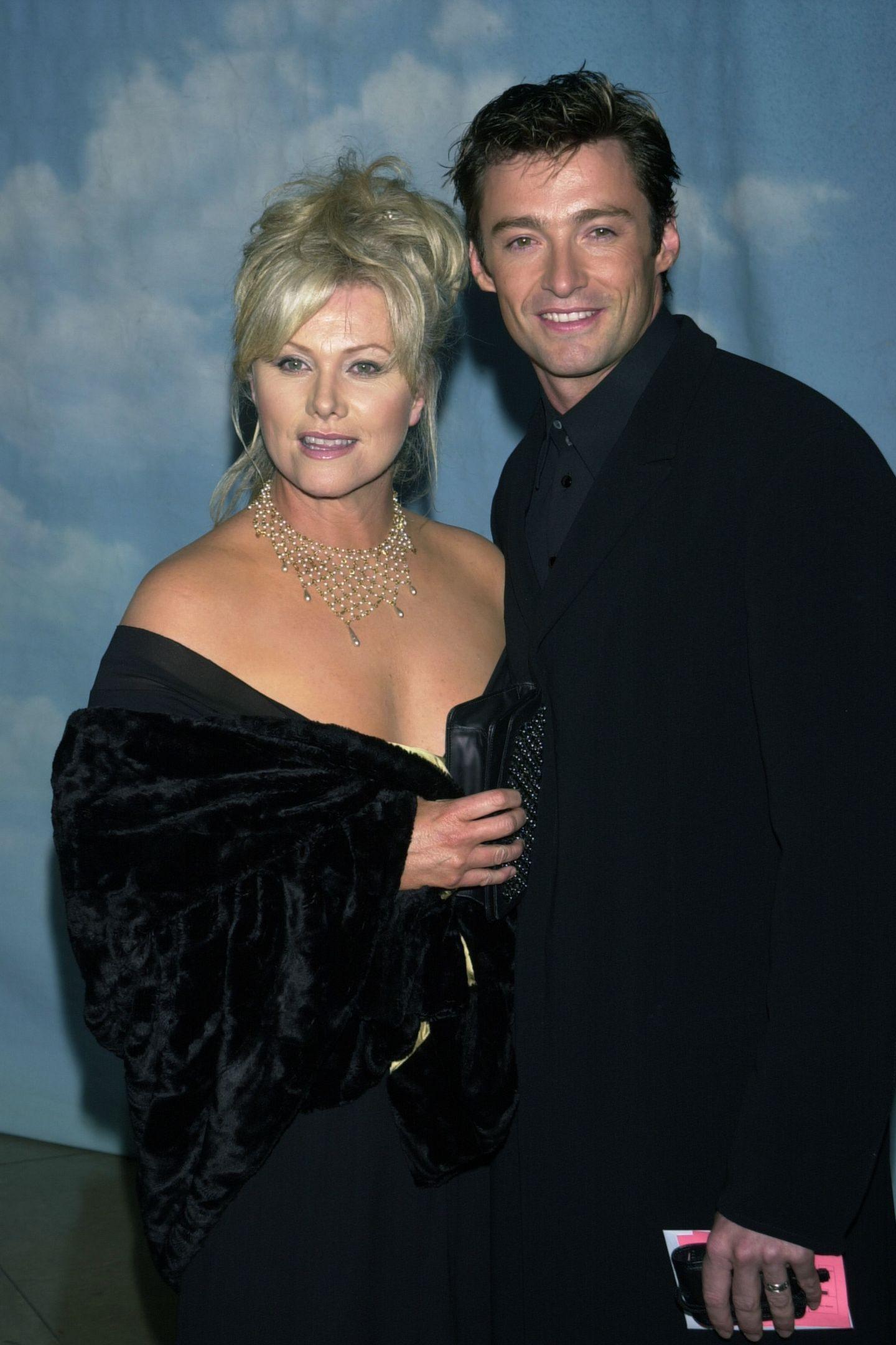 Schon im Jahr 2000 ein hottes Paar: Deborra-Lee Furness und Hugh Jackman - der Schauspieler ...