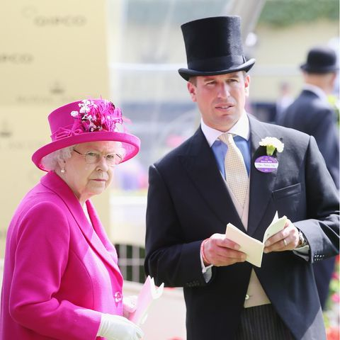 Queen Elizabeth und Peter Phillips