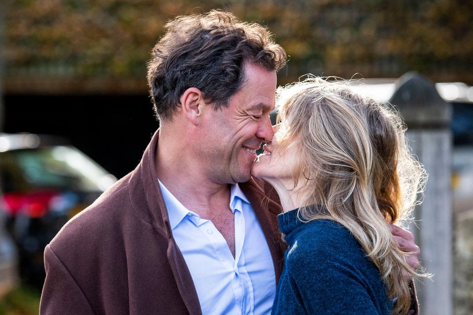 Dominic West + Catherine FitzGerald