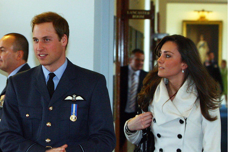 Prinz William und Herzogin Catherine 2008.