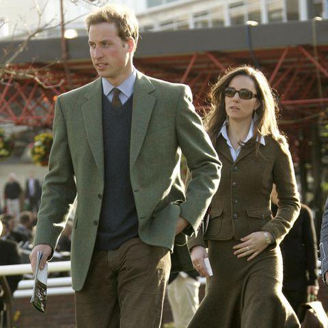 Prinz William und Herzogin Catherine im März 2007, kurz vor ihrer Trennung.
