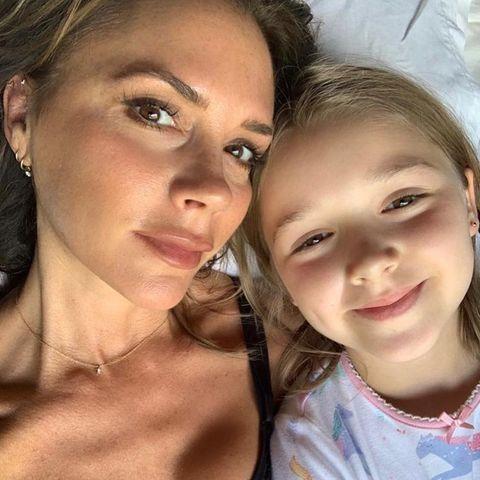 Victoria Beckham und Tochter Harper Seven