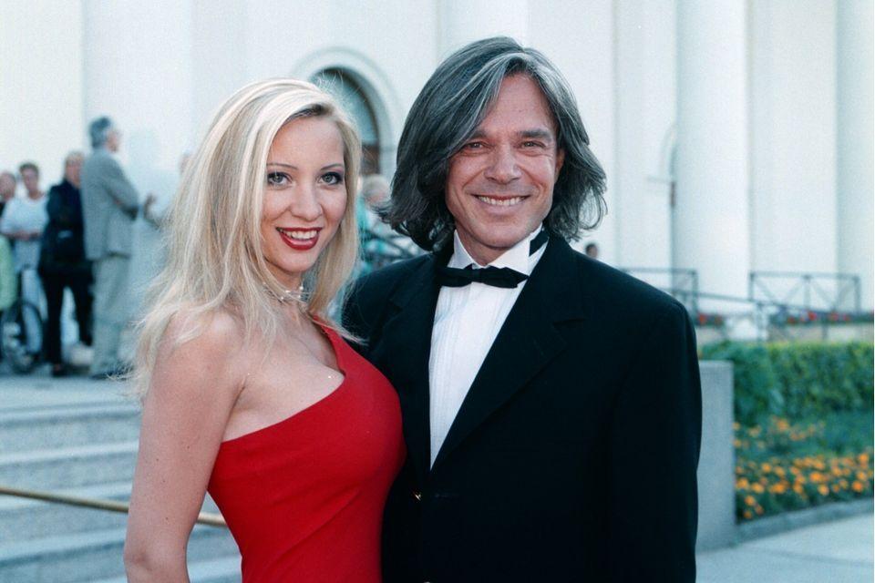 Jürgen Drews und seine Ehefrau Ramona im Jahr 1999.