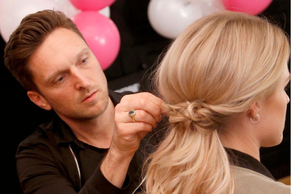 Star-Hairstylist Alexander von Trentini