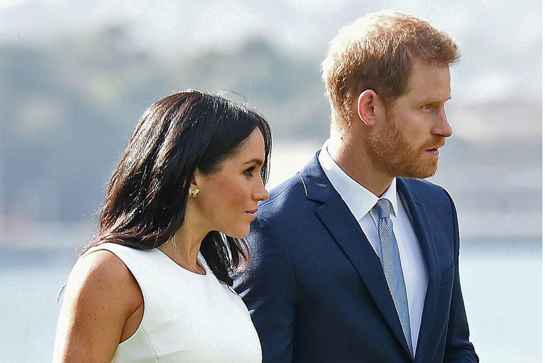 Herzogin Megan und Prinz Harry