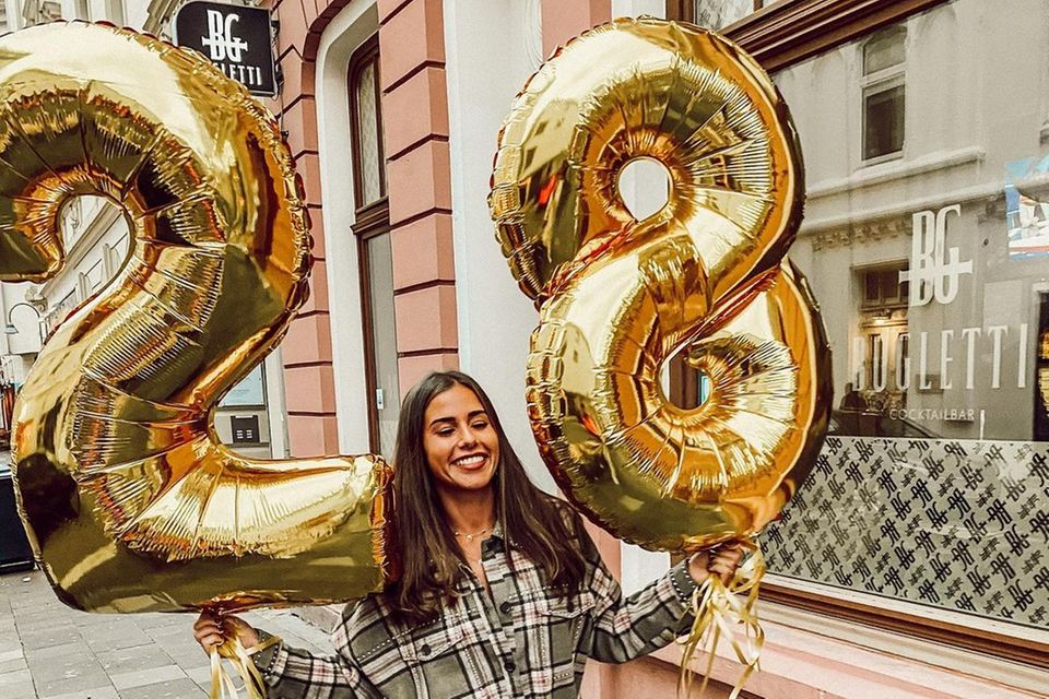 Sarah Lombardi feiert ihren 28. Geburtstag